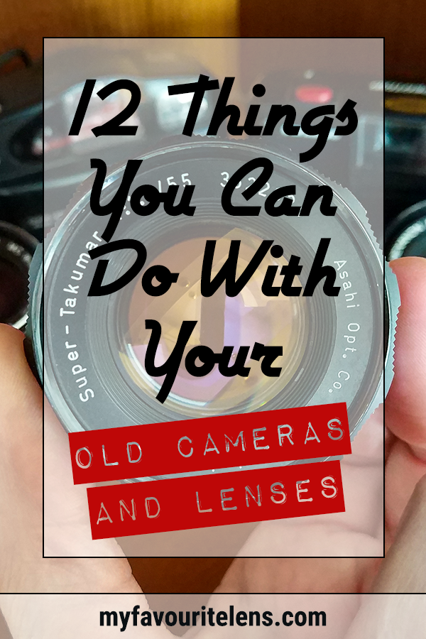 Don't know what to do with your old cameras and lenses? Here are some great ways to get them into the hands of those who can make use of them. Come learn!