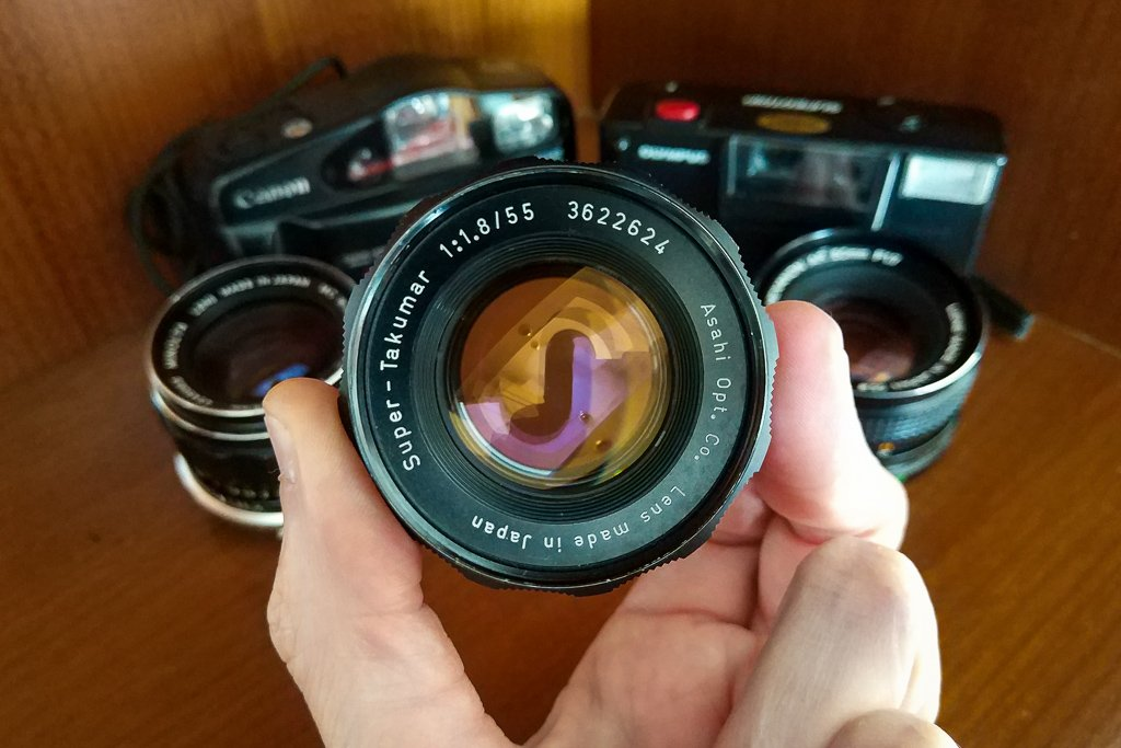 what to do with your old cameras and lenses