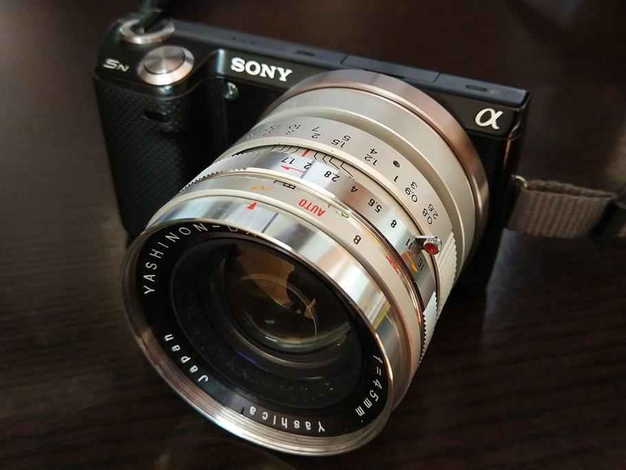 Yashica Yashinon-DX 45mm f1.7 review my favourite lens