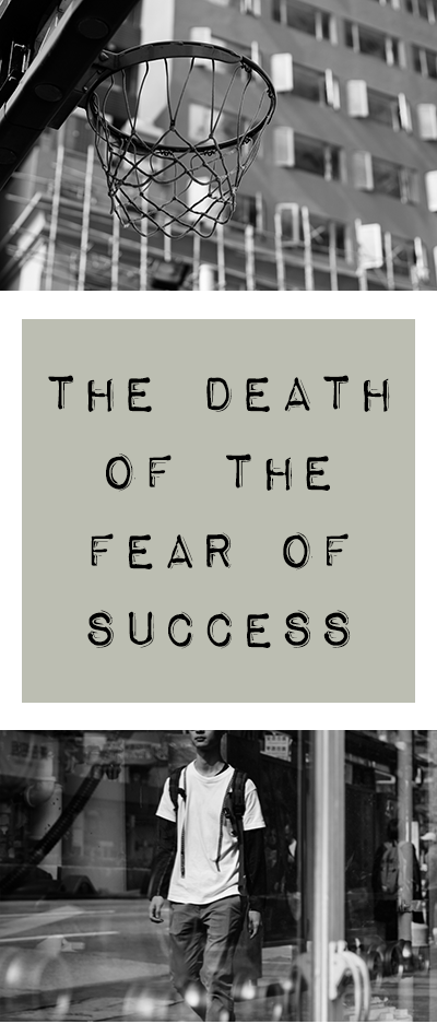 I used to think the fear of success was real. Now I think we have to look beyond it. Come see what that means and how it can help you today.