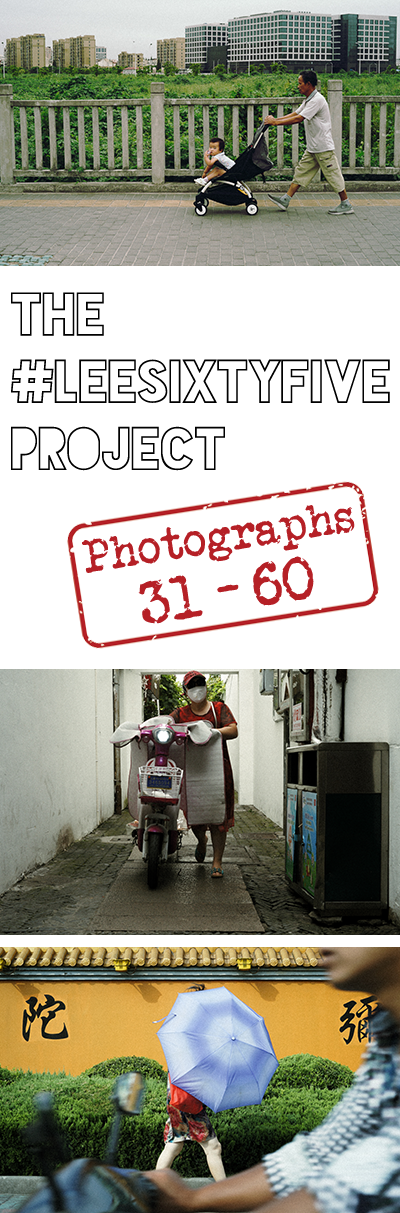 This 365 project, also know as the #leesixtyfive project, has passed another milestone. Come see how it looks between photographs 31 - 60. You'll like it.