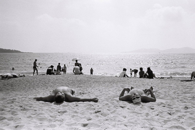 The Beach and the Beer – a Qingdao Film Photography Essay [Ilford Pan 400]