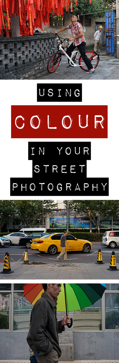 If you do colour street photography, I'd like to ask you a question. Are you simply shooting 'in colour', or are you truly 'using' colour in your work? There is a difference, and making the mindset shift to actively using colour can help take your street photography to the next level. Come see how and why here!