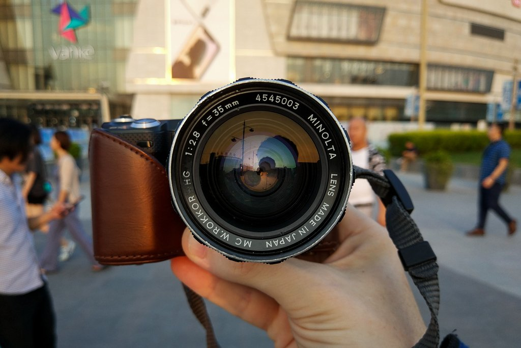 How to Shoot Street Photography with Vintage Lenses