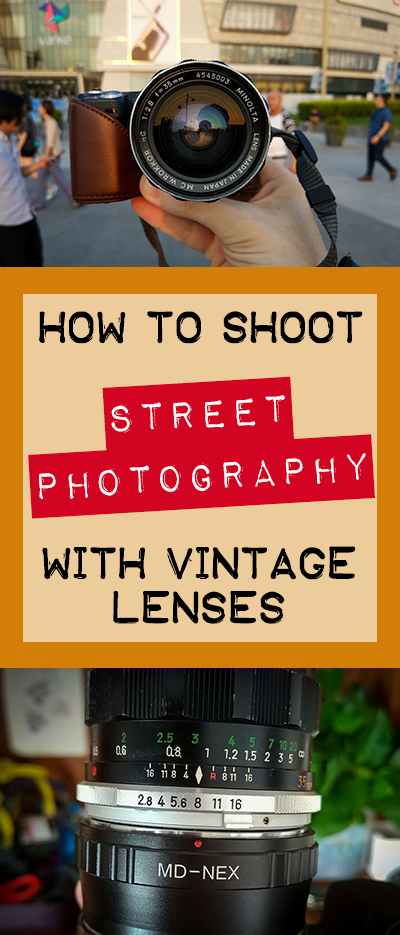 Wondering how to do street photography with vintage lenses? Then this post is for you. From basic camera settings to developing the instinct. Come learn.