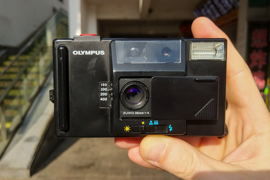 olympus supertrip camera review