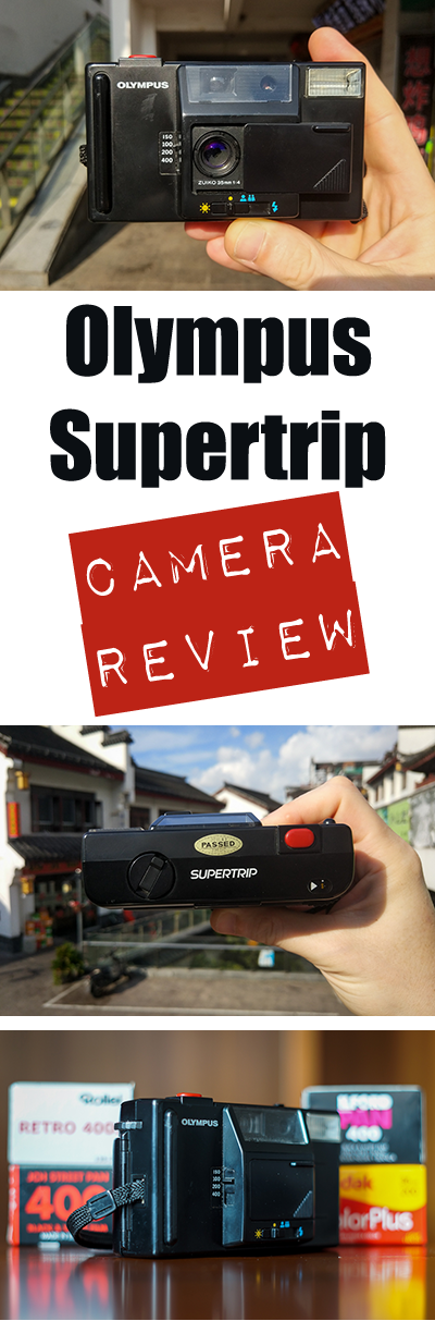 The Olympus Supertrip is a 1980s point and shoot film camera with nothing but the most basic features. I quite like it. Come see why in this review.