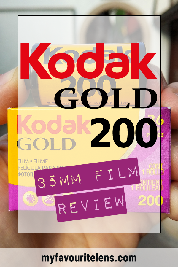 Kodak Gold 200 35mm Film Review - My Favourite Lens