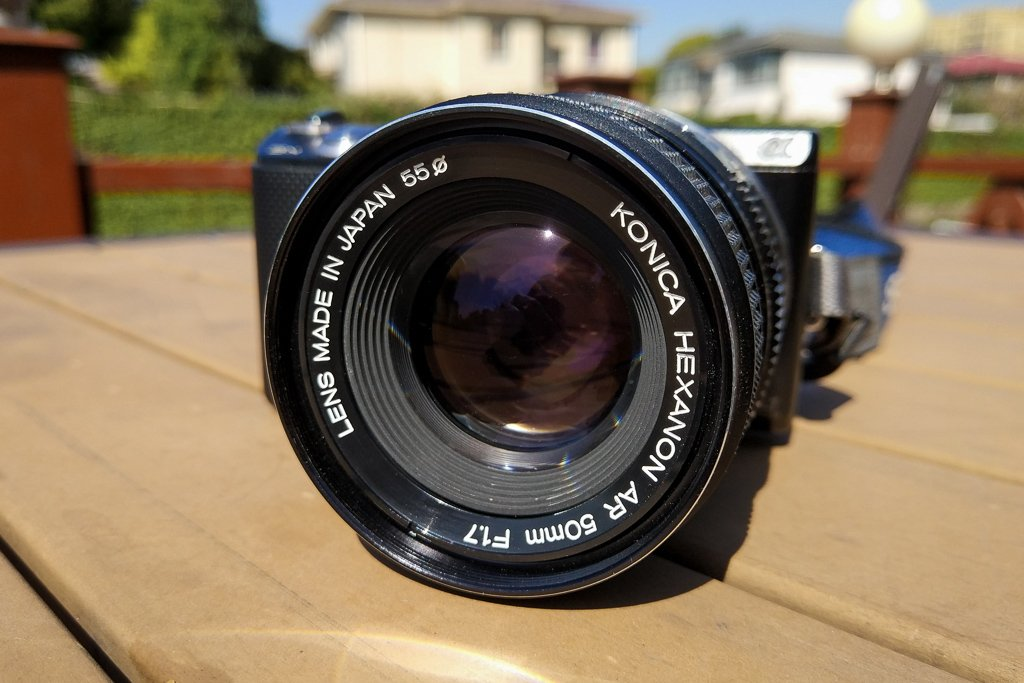 50mm lens nifty fifty