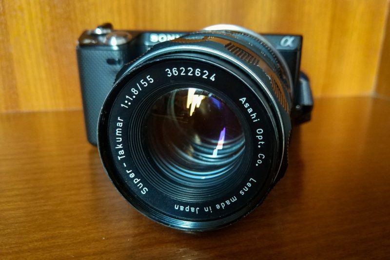 super-takumar 55mm f1.8 lens