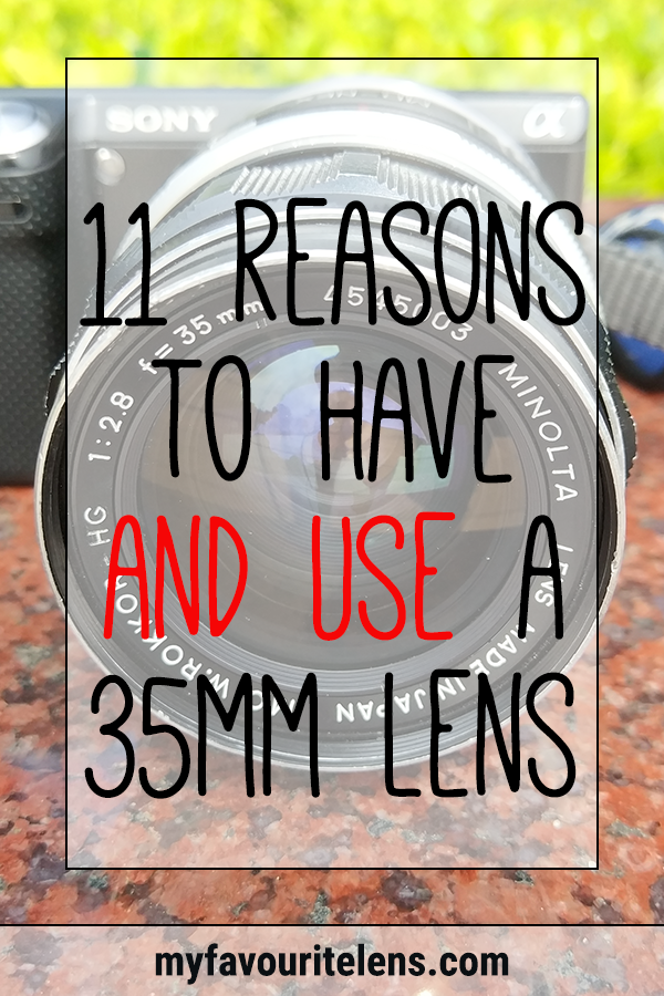 If you haven't considered buying a 35mm lens before, here are some reasons why you should. And if you have, come see why you should finally pick one up.