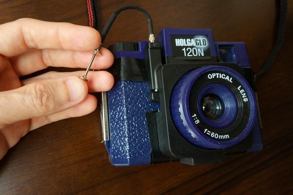 holga shutter release cable