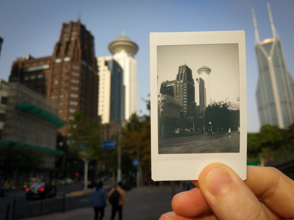 instax project in shanghai