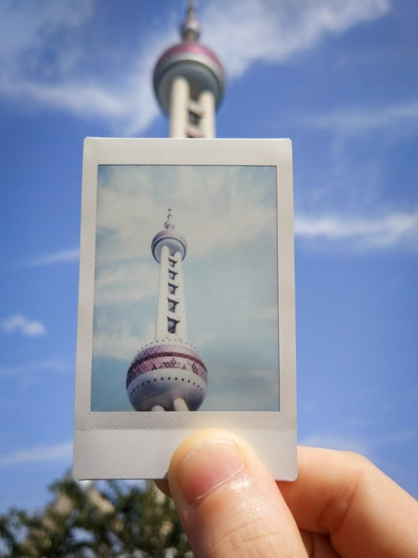 pearl tower instax