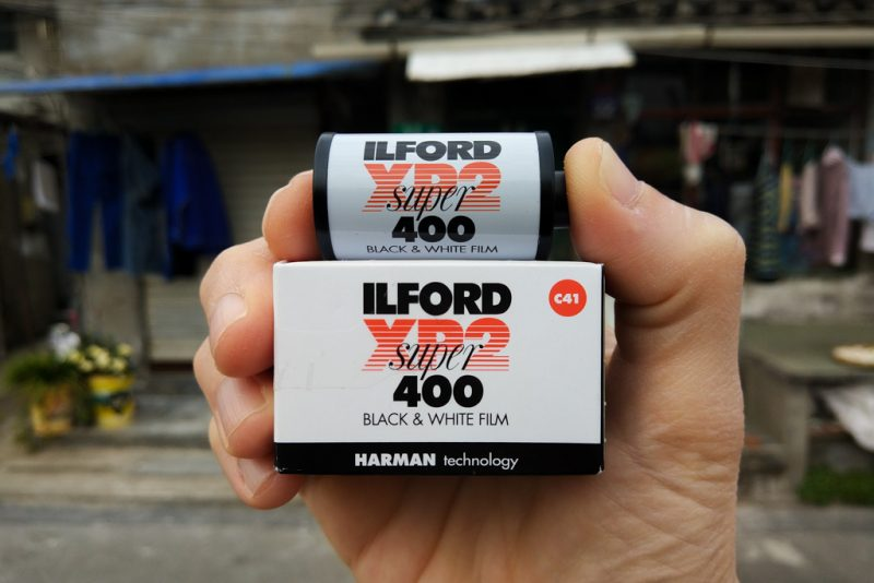 ilford xp2 400 film