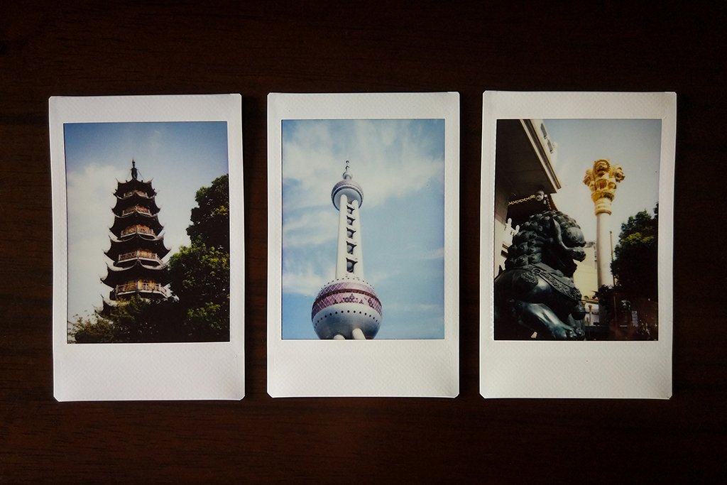 instax building shots