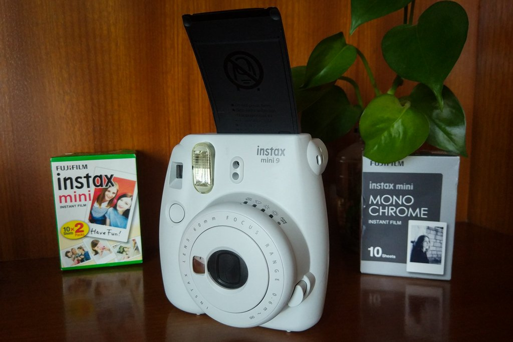 instax mini 9 first shot film cover
