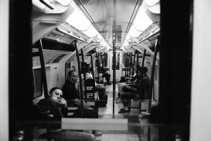 london underground film photography