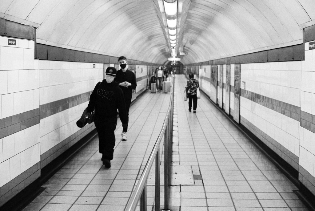london underground passage